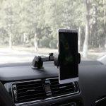 Car Phone Retractable Mount Holder