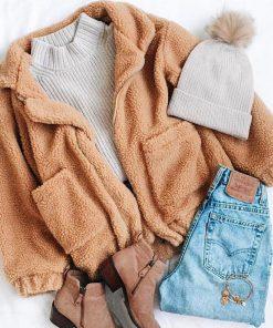 Cozy Teddy Jacket