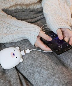 Cozy USB Rechargeable Hand Warmer & Power Bank