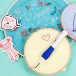 DIY Embroidery Pen Set