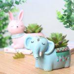 Boho Animals Planter
