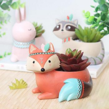 Boho Animals Planter