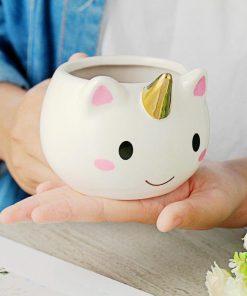 Gold Unicorn Mug