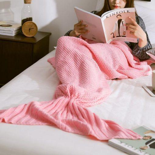 Handmade Mermaid Snuggle Blanket