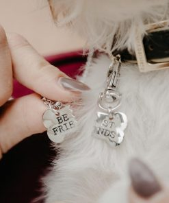 """Best Friend"" Necklace & Tag for You & Your Dog!"