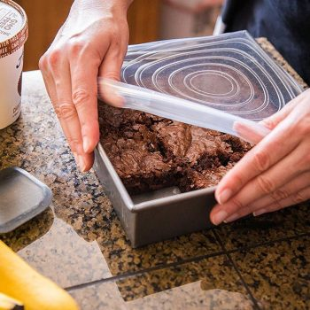 Reusable Silicone Stretch Lids for Kitchen (6 Pieces)
