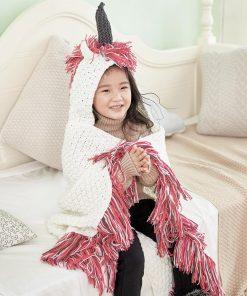 Unicorn Crochet Blanket