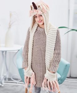 Unicorn Crochet Scarf