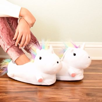 Comfy Magical Unicorn Slippers