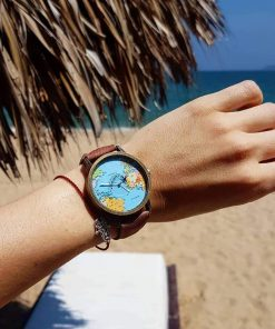 Vintage World Traveler Watch