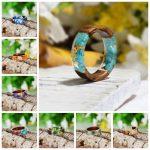 Handmade Wood Resin Ring