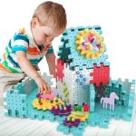 3D DIY Gear Building Blocks Toys For Kids