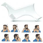 Clear Version – Beard Shaping Tool and Hair Trimmer Guide