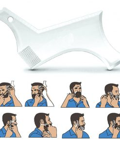 Black Version – Beard Shaping Tool and Hair Trimmer Guide