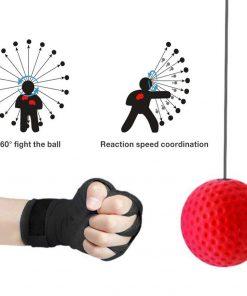 Boxing Reflex Ball Headband