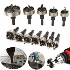 Hole Saw Cutter Drill Bit Set® (10pcs 16-50mm Set)