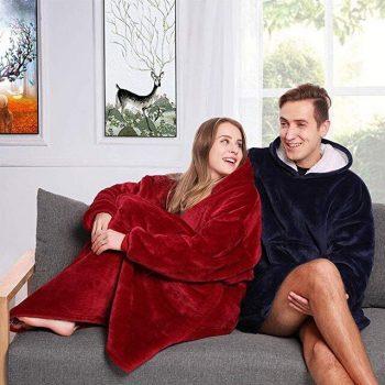 Huggle Hoodie – Super Soft Warm Outdoor Adult Huggle Hoodie Pocket Hoodie – As Seen on TV