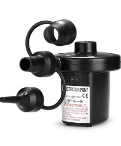 Electric Air Pump for Inflatable Pool, Balloons with 3 Nozzles
