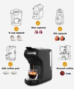 4-in-1 Espresso- Nespresso – Dolce Gusto Coffee Machine