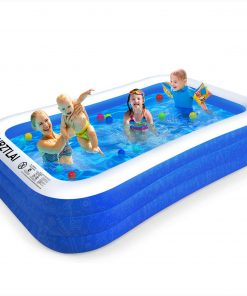 Large Inflatable Pool for Family, Adult