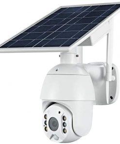 Solar Powered Security Camera, Solar Floodlight Security Camera, Solar Cameras for Outside