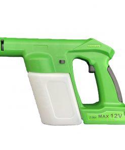 Cordless Electrostatic Disinfectant Sprayer, Rechargeable ULV Cold Fogger, Battery Powered Nano Handheld Machine, Fog Gun Electrostatic Fogger