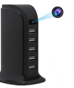 4K Smart Discreet Surveillance Camera Charging Stand